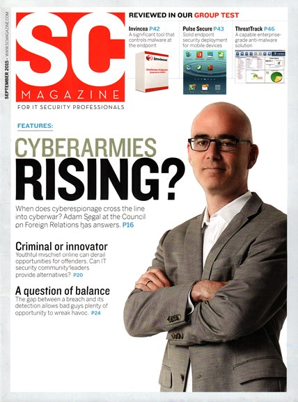 SC Magazine - U.S. edition Cover - 9/1/2015