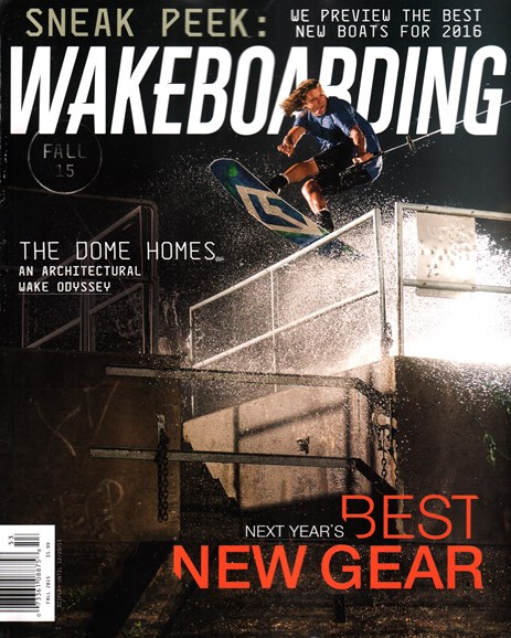 Wake Boarding Cover - 10/1/2015