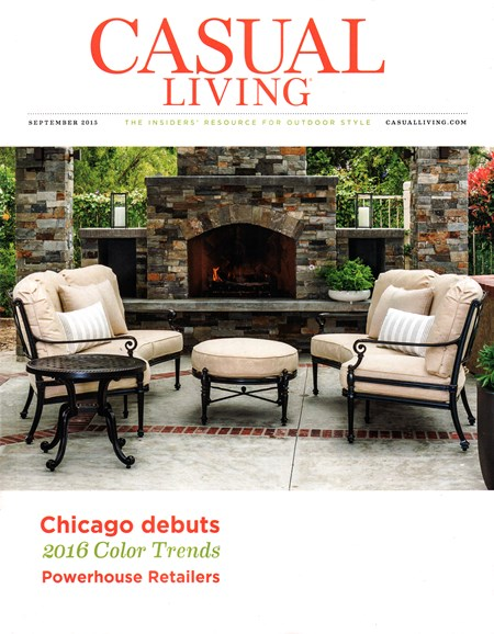 Casual Living Cover - 9/1/2015