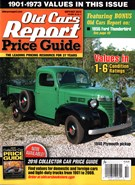 Old Cars Report Price Guide 9/1/2015