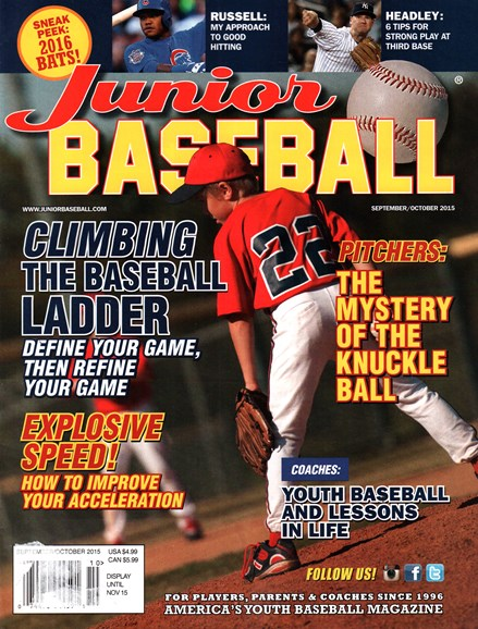 Junior Baseball Cover - 9/1/2015
