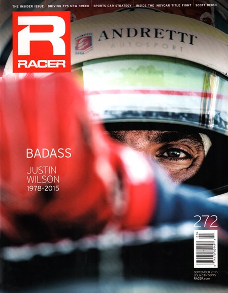 Racer Cover - 9/1/2015