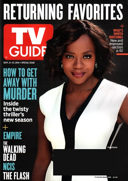 TV Guide Cover - 9/21/2015