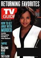 TV Guide Magazine 9/21/2015