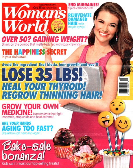 Woman's World Cover - 9/28/2015