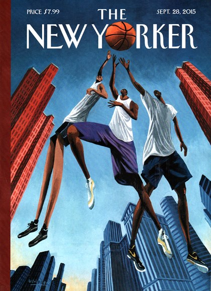 The New Yorker Cover - 9/28/2015