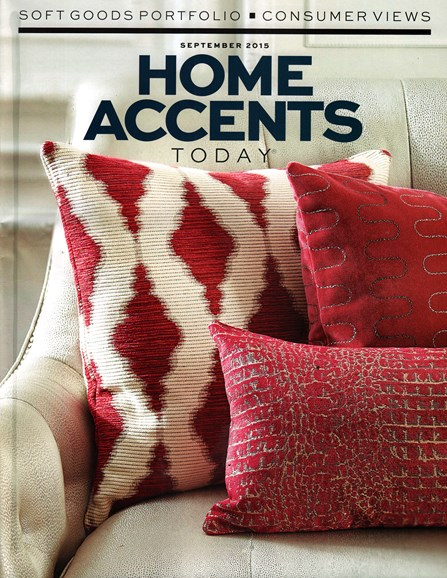 Home Accents Today Cover - 9/1/2015
