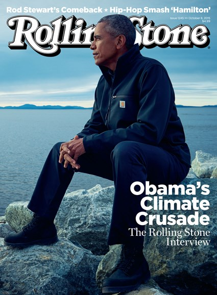 Rolling Stone Cover - 10/8/2015