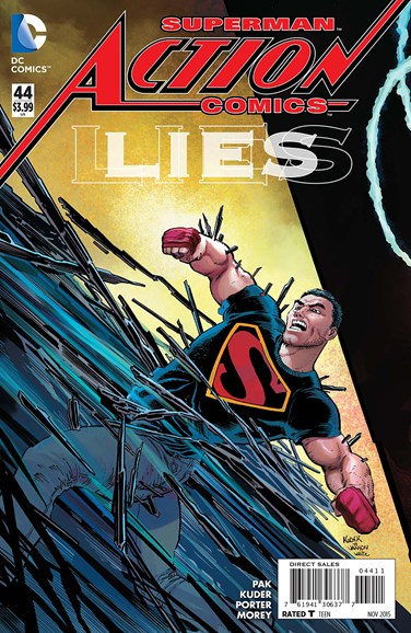 Action Comics Cover - 11/1/2015