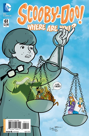 Scooby Doo, Where Are You? Cover - 11/1/2015