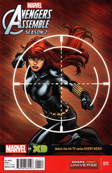 Marvel Universe Avengers Assemble Cover - 11/1/2015