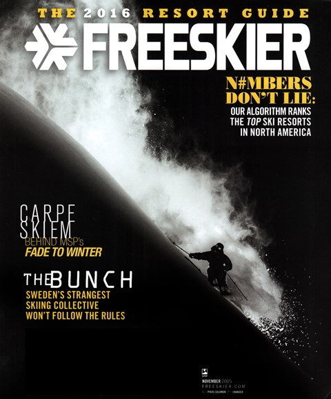 Freeskier Cover - 11/1/2015