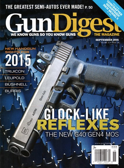 Gun Digest Cover - 9/1/2015
