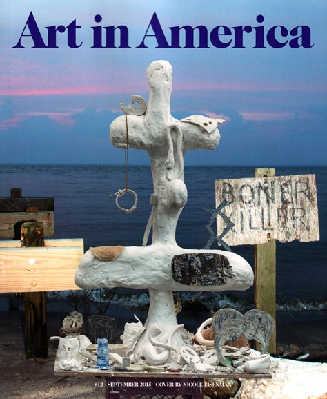 Art In America Cover - 9/1/2015