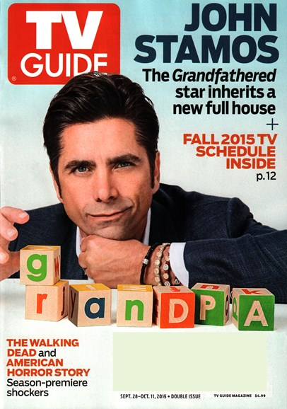 TV Guide Cover - 9/28/2015