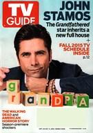 TV Guide Magazine 9/28/2015