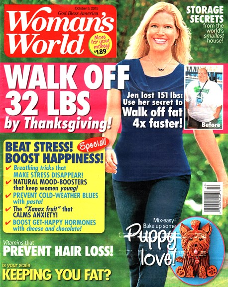 Woman's World Cover - 10/5/2015