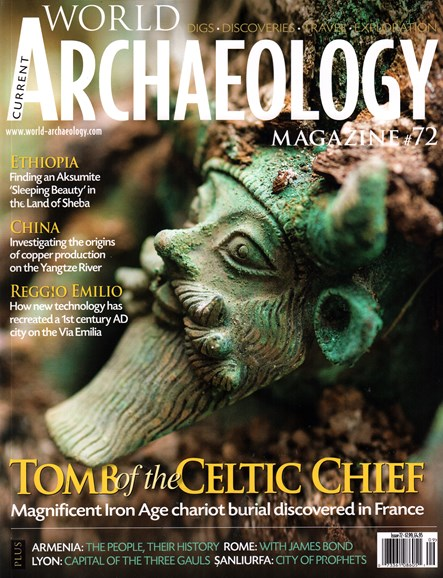 Current World Archaeology Cover - 8/1/2015