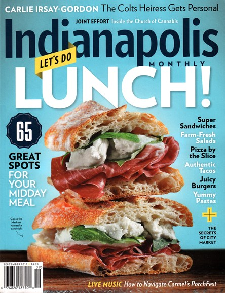 Indianapolis Monthly Cover - 9/1/2015