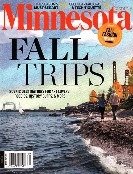 Minnesota Monthly Cover - 9/1/2015