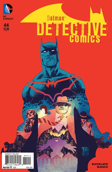 Detective Comics Cover - 11/1/2015