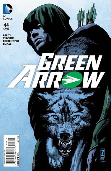 Green Arrow Cover - 11/1/2015