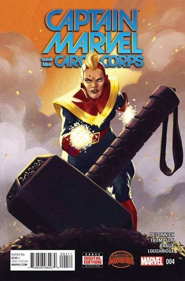 Captain Marvel Cover - 11/1/2015