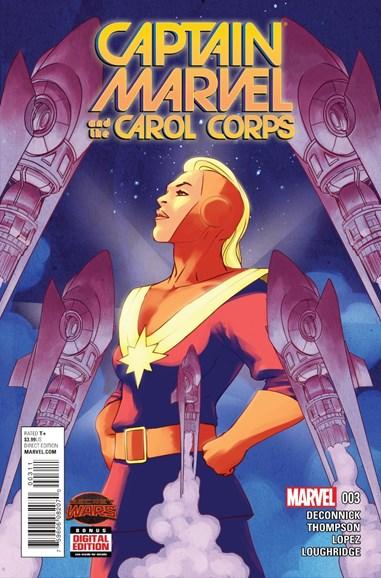 Captain Marvel Cover - 10/1/2015