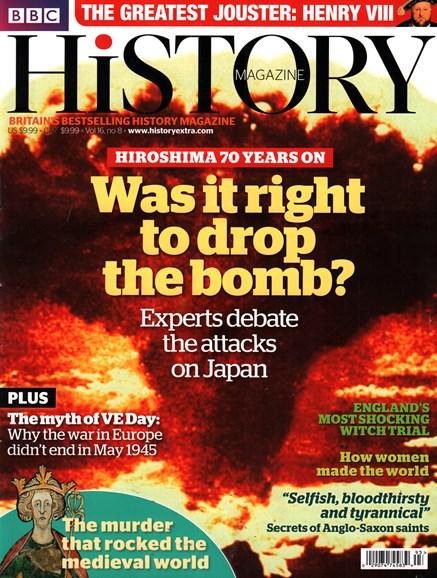 BBC History Cover - 8/1/2015