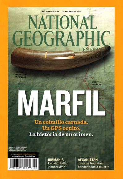National Geographic En Español Cover - 9/1/2015