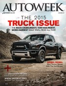 Autoweek Magazine 9/28/2015