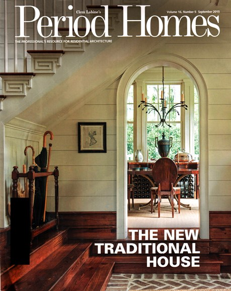 Period Homes Cover - 9/1/2015