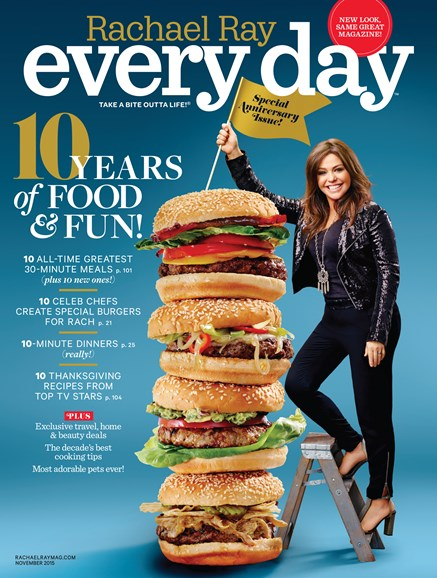 Rachael Ray Every Day Cover - 11/1/2015