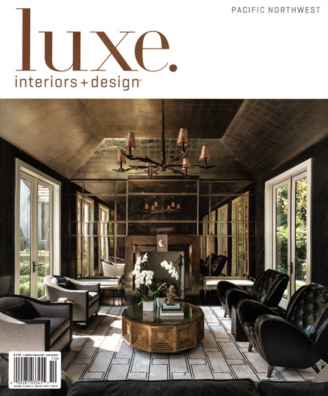 Luxe Interiors & Design Cover - 9/1/2015