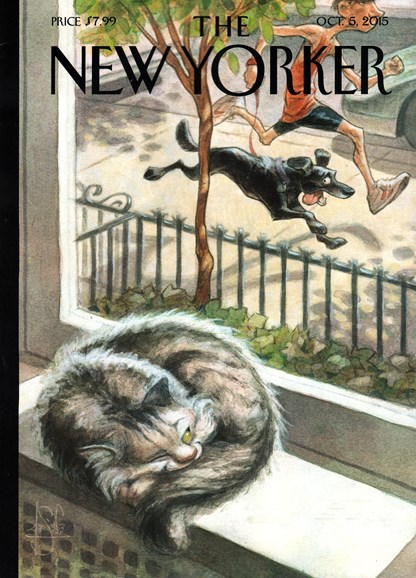 The New Yorker Cover - 10/6/2015