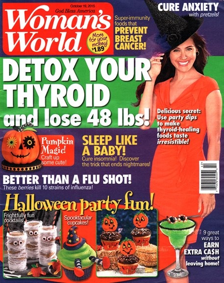 Woman's World Cover - 10/19/2015