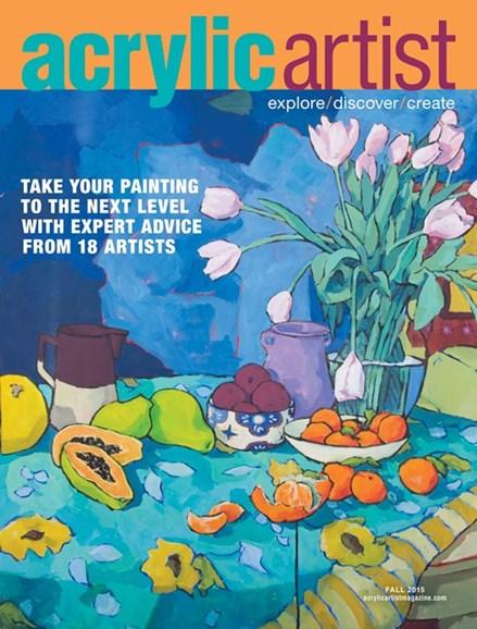 Acrylic Artist Cover - 9/1/2015