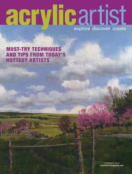 Acrylic Artist Cover - 6/1/2015