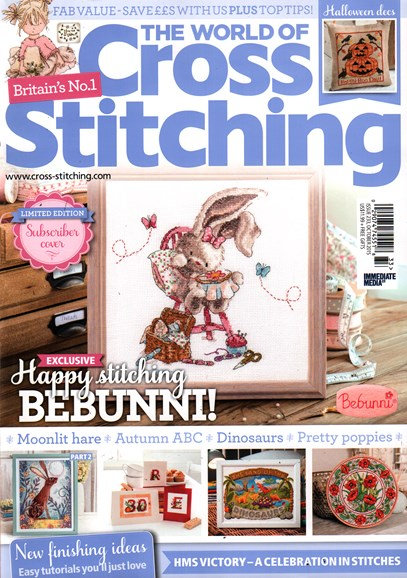 The World of Cross Stitching Cover - 10/1/2015