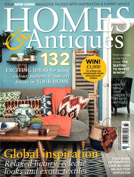 Homes & Antiques Cover - 9/1/2015