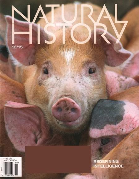 Natural History Cover - 10/1/2015