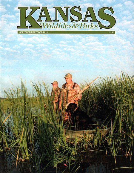 Kansas Wildlife & Parks Cover - 10/1/2015