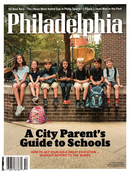 Philadelphia Magazine Cover - 10/1/2015
