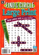 Find and Circle Large Print Magazine 1/1/2016