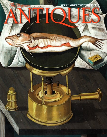 The Magazine Antiques Cover - 9/1/2015