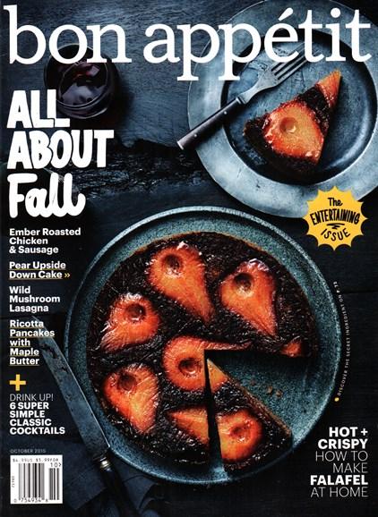 Bon Appétit Cover - 10/1/2015