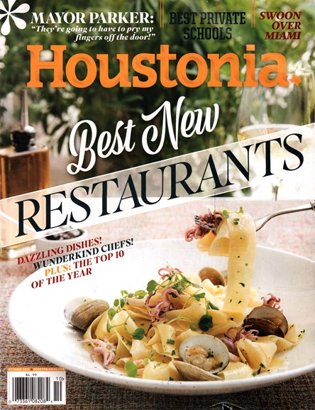 Houstonia Cover - 10/1/2015