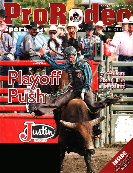 Pro Rodeo Sports News Cover - 9/25/2015