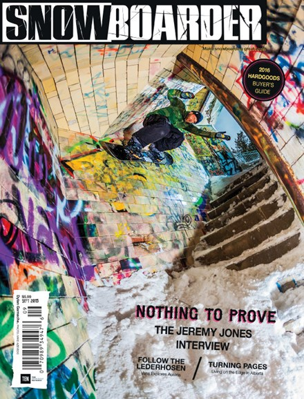 Snowboarder Cover - 9/1/2015