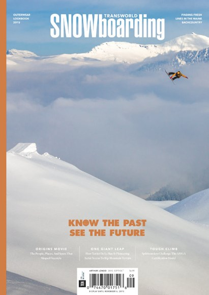 Transworld SNOWboarding Cover - 9/1/2015